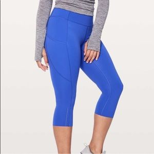 Lululemon Fast and Free crop size 4